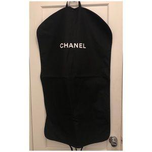 Chanel garment bag canvas